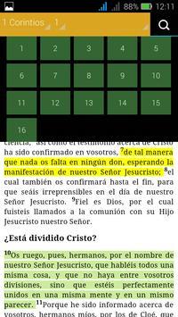 Santa Biblia - Reina Valera screenshot 1