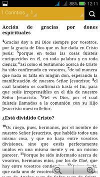 Santa Biblia - Reina Valera screenshot 3