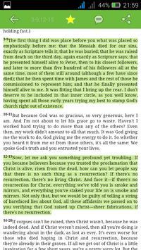 The Amplified Study Bible screenshot 3