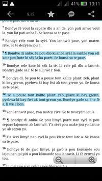 Haitian Study Bible poster