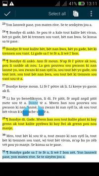 Haitian Study Bible screenshot 1