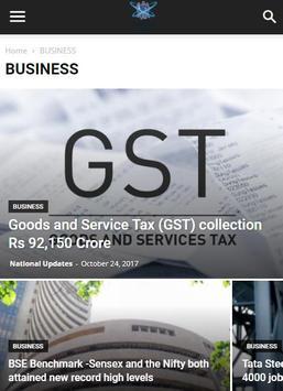 National Updates News screenshot 1