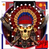 3d Nativ American Skull icon