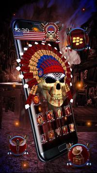 3d Nativ American Skull screenshot 1