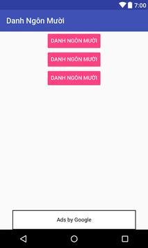 Danh Ngôn Mười screenshot 1