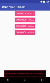 Danh Ngôn Hai Lăm poster