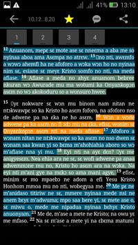 Ghanaian Twi Bible apk screenshot