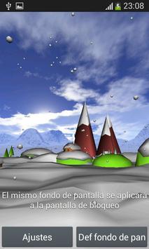 Christmas 3D Live Wallpaper screenshot 3