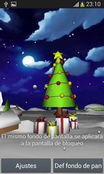 Christmas 3D Live Wallpaper screenshot 2
