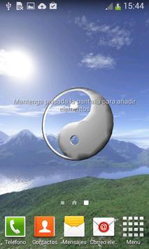 Yin Yang 3D Live WallPaper poster