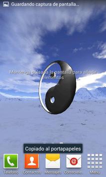 Yin Yang 3D Live WallPaper screenshot 1