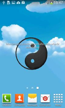 Yin Yang 3D Live WallPaper screenshot 3