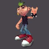Punk Boy 3D Live Wallpaper icon
