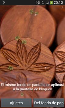 Marihuana Live Wallpaper Free apk screenshot
