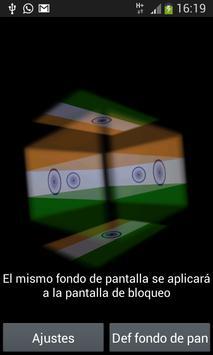 India 3D Live Wallpaper poster
