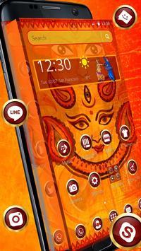 Navratri Durga Theme poster