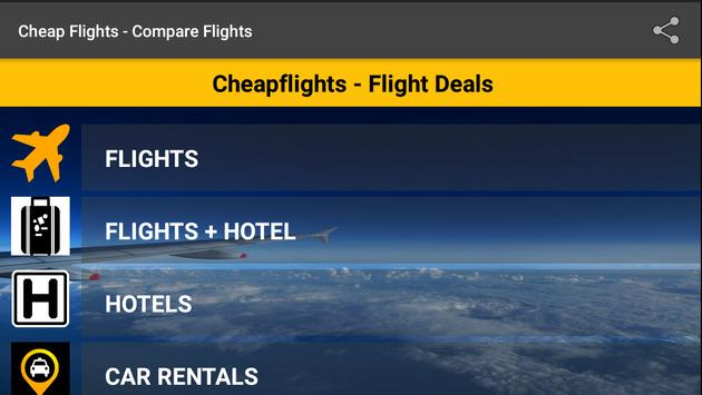 Cheap-FlightComparison apk screenshot