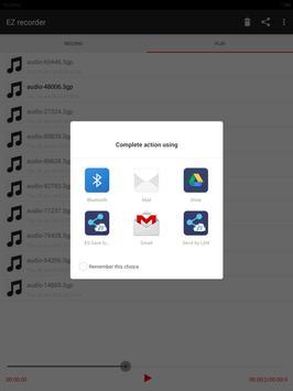 EZ recorder apk screenshot