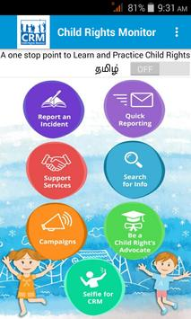 Child Rights Monitor poster