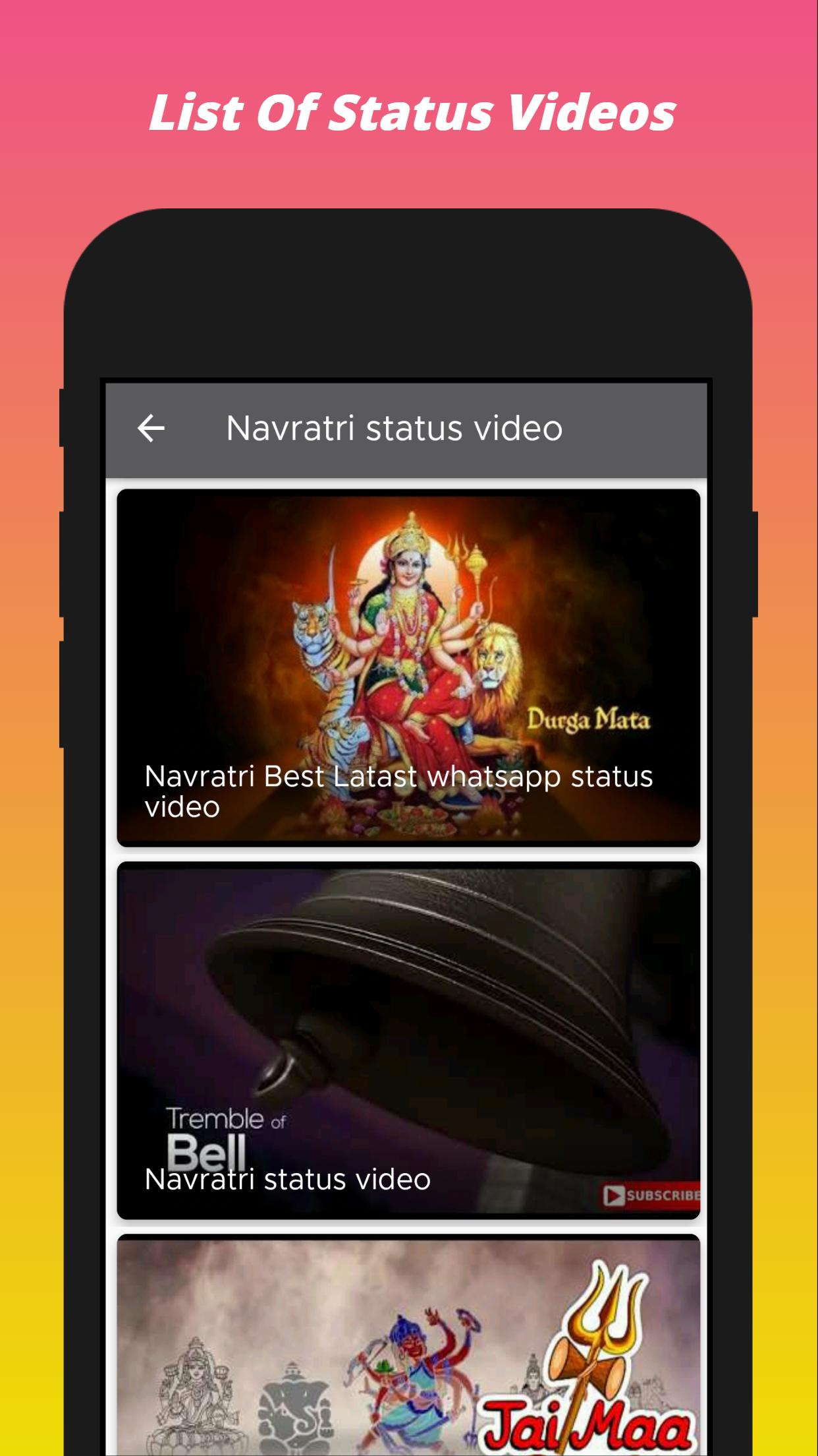Navratri Video Status For Android Apk Download