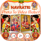 Navratri Garba Video Maker icon