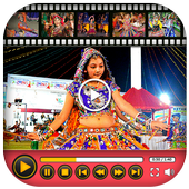 Navratri Video Maker With Music icon