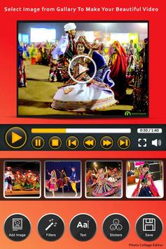 Navratri Video Maker poster