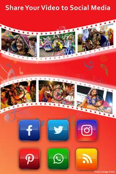 Navratri Video Maker With Music apk screenshot