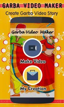 Navratri Video Maker - Garba Video Maker poster
