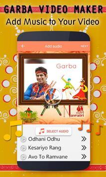Navratri Video Maker - Garba Video Maker apk screenshot