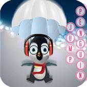 penguin jump: parachutes icon