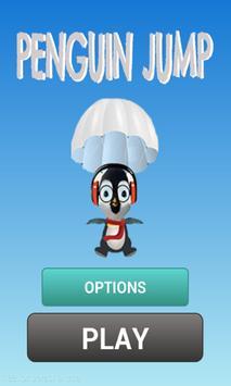 penguin jump: parachutes poster