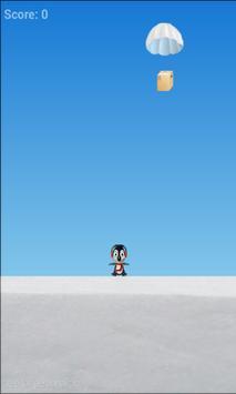 penguin jump: parachutes apk screenshot
