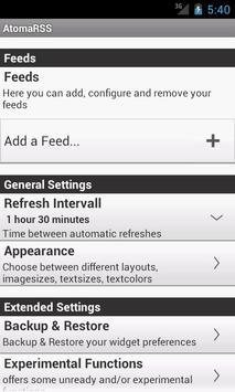 Scrollable News Widget AtomaRS screenshot 6