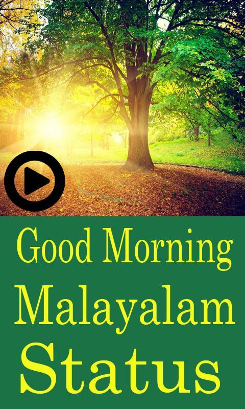 Good Morning Latest Status Video Malayalam For Android Apk Download