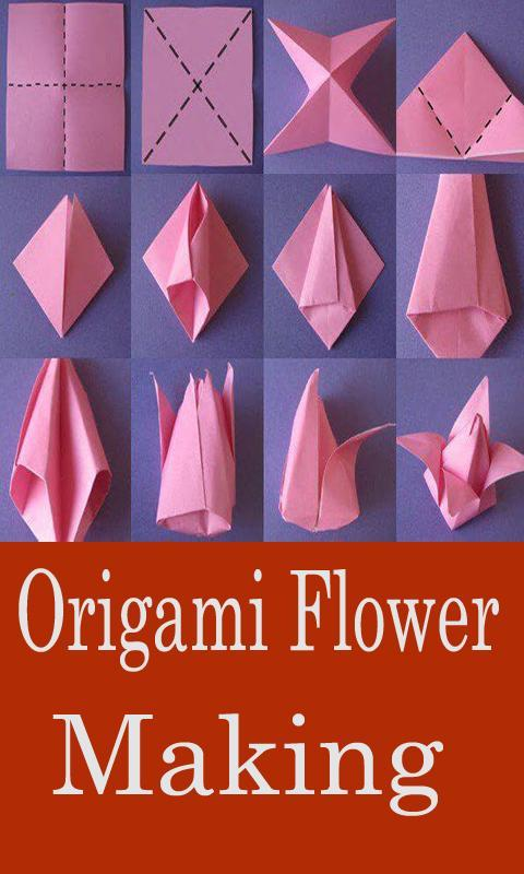 Colors Paper: How to make lily Paper Flower - Origami Flowers for Beginners | 800x480
