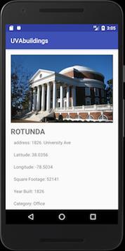 UVA Buildings screenshot 3