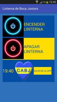 Linterna de Boca Juniors apk screenshot