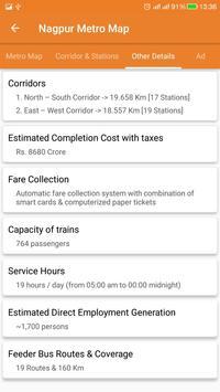 Nagpur Metro screenshot 1
