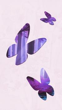 Butterfly Forest LiveWallpaper apk screenshot