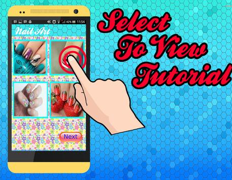 Nail Design Tutorial apk screenshot