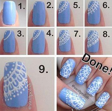Easy Nail Art Designs apk screenshot