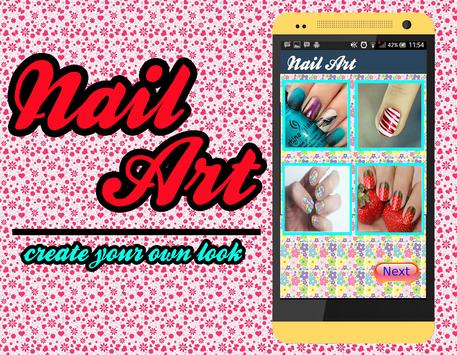 Nails Art Ideas الملصق