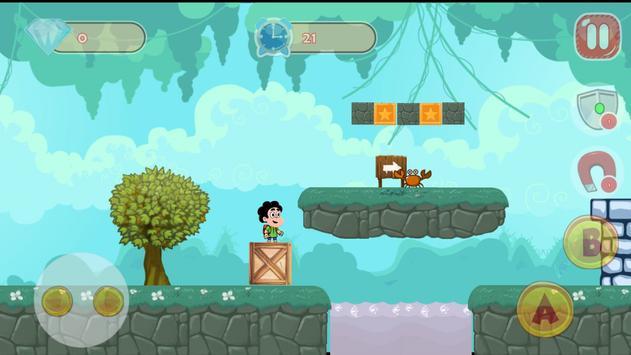 Steven in the Mario Universe apk screenshot