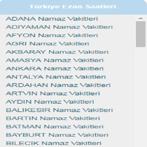 Namaz Vakitleri For Android Apk Download