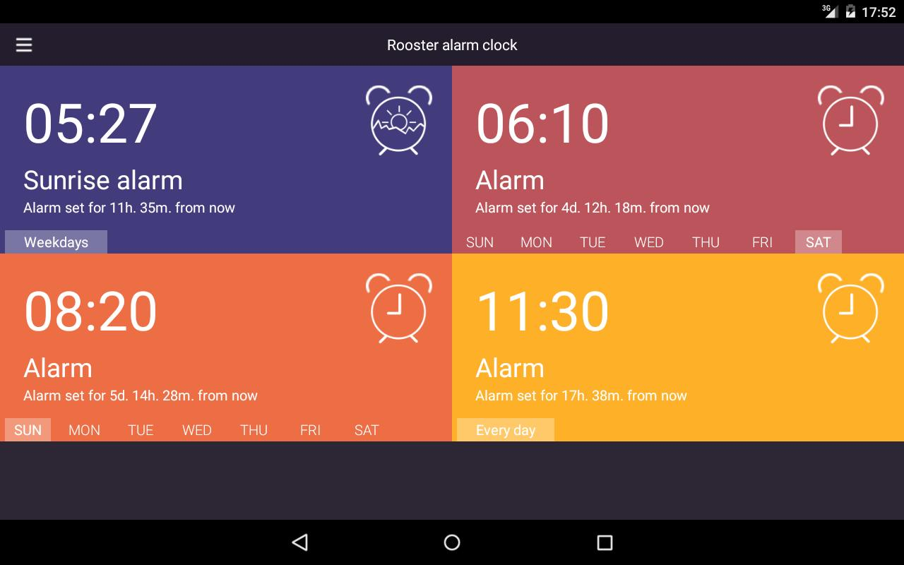 Rooster alarm clock for Android - APK Download
