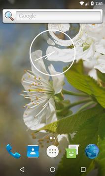 Flowering cherry LiveWallpaper poster