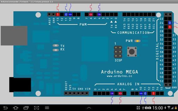 ArduinoCommander screenshot 1