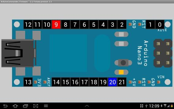 ArduinoCommander screenshot 2