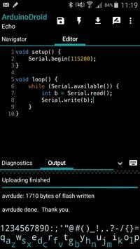 ArduinoDroid capture d'écran 3